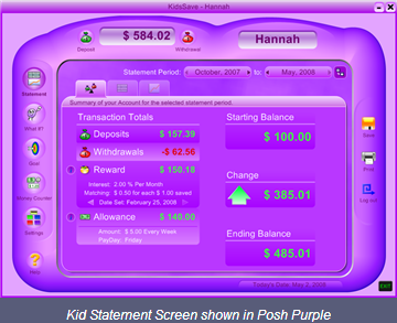 KidsSave full screenshot